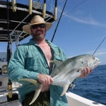Jimmy with Jack Crevalle in hand.