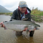 Silver Salmon Fishing Alaska