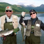 Alaska Pink Salmon Fly Fishing