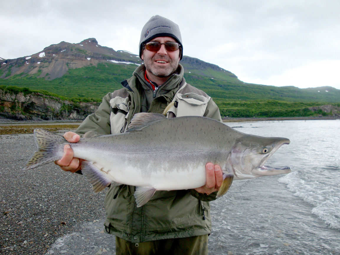 Photo gallery for Alaska salmon fishing