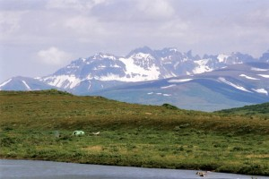 Remote Alaska Fly Fishing Camp