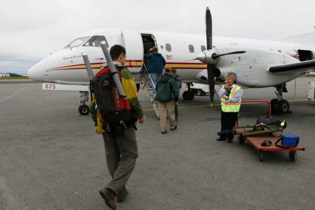 Remote Alaska Fly Fishing Trip. Photo by Johnny Quiroz.